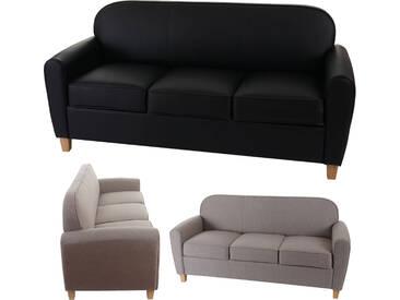 3er Sofa Malmö T377, Loungesofa Couch, Retro 50er Jahre Design