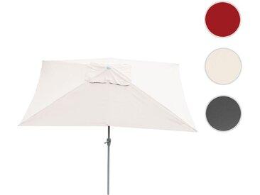Sonnenschirm N23, Gartenschirm, 2x3m rechteckig neigbar, Polyester/Alu 4,5kg