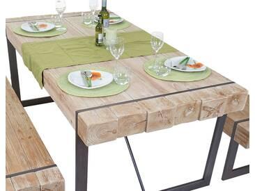 Esszimmertisch HWC-A15, Esstisch Tisch, Tanne Holz rustikal massiv