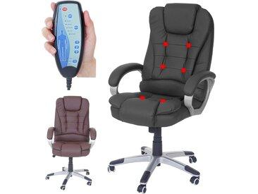 Massage-Bürostuhl Blackburn, Massagestuhl Drehstuhl Chefsessel