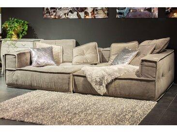 big sofa marrakesh wohnlandschaft grau stoff 3 5 sitzplatze modern