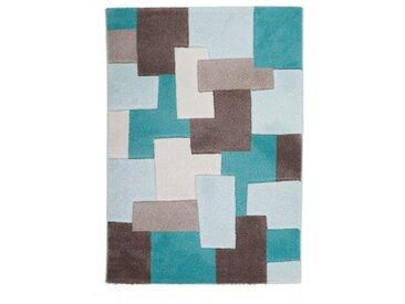 """Beauty.Scouts Designerteppich """"Pezzi"""" mint 80x150 cm, 120x170 cm, 160x230 cm,..."""