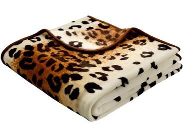 Biederlack Wohndecke Simply Luxury Tierfell-Optik
