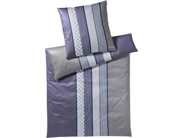 JOOP Bettwäsche Cornflower Stripes deep violett