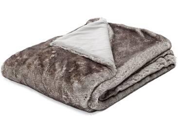 Biederlack Wohndecke Maroon Woven Fur