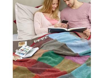 Biederlack Wohndecke Warm Shades Colour Woven