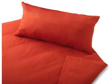 Cotonea Satin-Bettwäsche Superbe orange