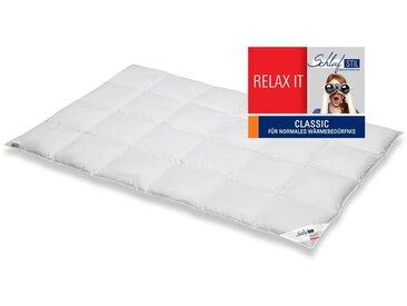Schlafstil Daunendecke Relax It Classic, 60% Daunen, 40% Federn