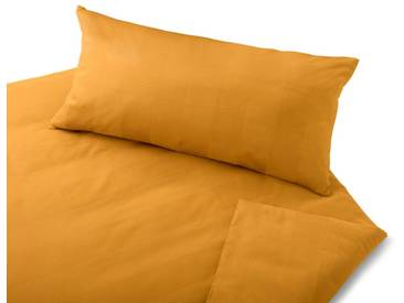 Cotonea Satin-Bettwäsche Superbe Honig