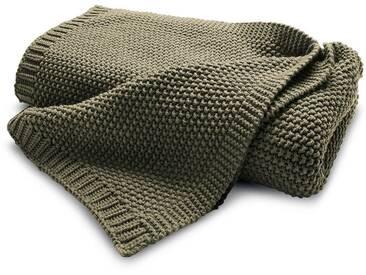 Biederlack Plaid Knit