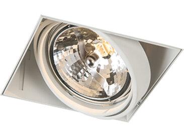 Modern Einbauspot weiß AR111 - Oneon 111-1 Trimless G53