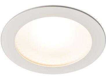 Modern Moderner Einbaustrahler weiß inkl. LED - Invaser 15W