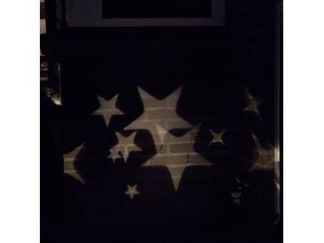Modern Weihnachtsbeleuchtung Projektor-Lampe Stern LED kaltweiß