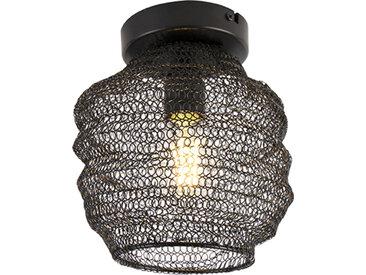 Orientalisch Orientalische Deckenlampe schwarz - Nidum Bene E27