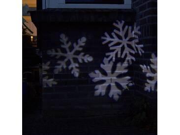 Weihnachtslicht Schneesturm Projektor-Lampe LED kaltweiß (nicht