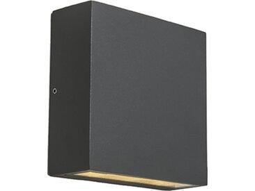 Design,Industrie,Modern Außenwandleuchte dunkelgrau IP54 inkl.
