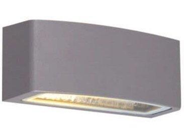 Modern Moderne Außenwandleuchte Graphit 14,3 cm IP44 - Latina E27