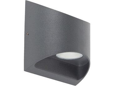 Modern Moderne Außenwandleuchte dunkelgrau inkl. LED IP54 - Mal
