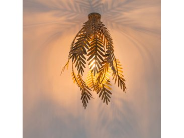 Retro Vintage Deckenleuchte gold - Botanica E27