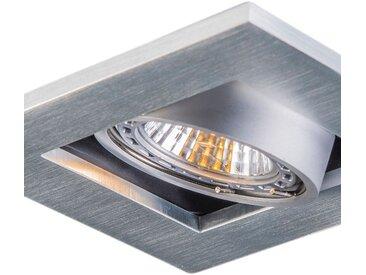 Modern Set aus 10 Einbaustrahlern Aluminium - Qure GU10