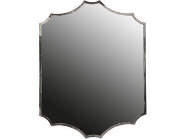 Bepurehome Gorgeous Spiegel mit Metallrahmen 70 x 51cm - silber