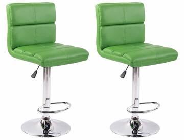 CLP 2er Set Barhocker Umbria grün