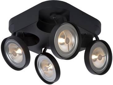 LED Deckenleuchte Versum Ar111 in Schwarz G53 4x10W 1540lm EEK A+ [Spektrum A++ bis E]