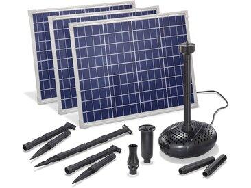 Solar Teichpumpe 150W 5000l/h Solarpumpe Wasserspiel Pumpe Teich esotec 101919