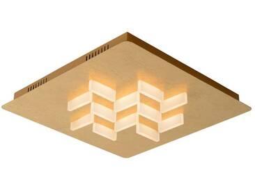 LED Deckenleuchte Anisto, gold, 12x2,5W, eckig EEK A++ [Spektrum A++ bis E]