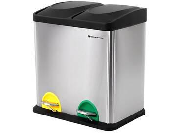 Mülleimer Abfallbehälter für Küche 30L Treteimer Edelstahl mit Pedal LTB30L