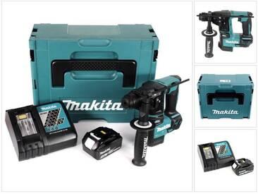 Makita DHR 171 RT1J 18 V 2-stufiger Brushless Akku Bohrhammer mit SDS Plus im Makpac + 1 x 5,0 Ah Akku + Ladegerät