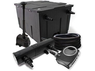 Filter Set ausfilter 60000l, SuperEco Pumpe, Schlauch, 24W Klärer, Springbrunnenpumpe und Skimmer