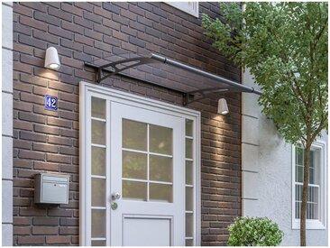 Vordach Haustürdach Stahl Acrylglas klar 1500x950 Überdachung Türdach