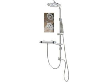 Duschset Brauseset Duschgarnitur Dusche für Bohrlöcher Thermostat 1006-RW-T