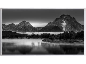 Bildheizung - Infrarotheizung mit hochauflösendem Motiv (1000W-Grand Teton Landscape Oxbow Bend)