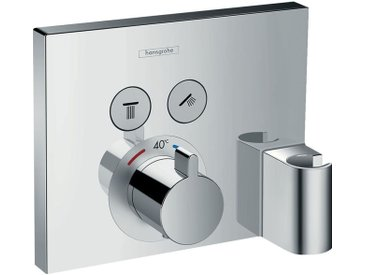 hansgrohe ShowerSelect Thermostat, Unterputz, 2 Verbraucher, 15765000, chrom - 15765000