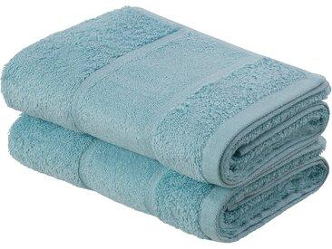 Living Dreams Premium Handtuch-Set (2tlg) oder Badetuch