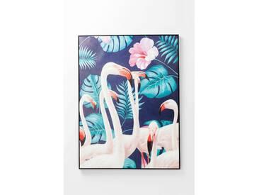 KARE Design Bild Touched Flamingo Road