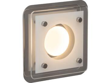 AEG Charon LED Wand- und Deckenleuchte 1flg chrom/transparent