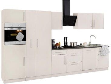 wiho Küchen Küchenzeile Cali mit E-Geräten Breite 360 cm mit...