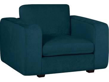 machalke® Sessel »Valentino« mit breiten Armlehnen, Füße schwarz