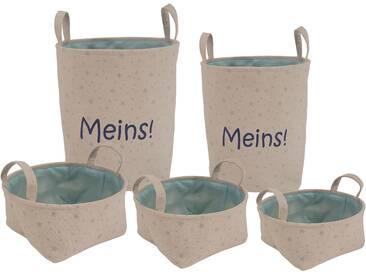 Franz Müller Flechtwaren Storage Container, 5er Set, »Kids -...