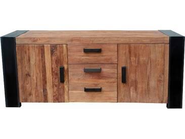 SIT Sideboard Croco aus recyceltem Teak Breite 192 cm