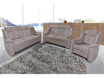 sit&more Set: 3-Sitzer + 2-Sitzer + Sessel