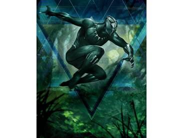 Komar Fototapete »Black Panther Jungle Beast«, 200/250 cm