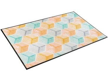 Läufer, »Soft Cubes«, wash+dry by Kleen-Tex, rechteckig, Höhe...