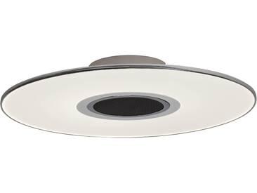 AEG Tonic LED Deckenleuchte 49cm mit Lautsprecher weiß/chrom