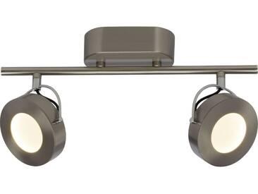 AEG Allora LED Spotrohr 2flg eisen/chrom easyDim