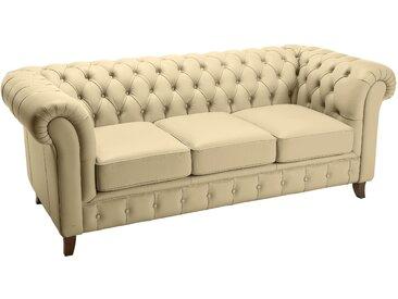 heine home Sofa aus echtem Leder