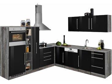 HELD MÖBEL Winkelküche Samos ohne E-Geräte Stellbreite 260 x...